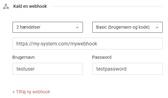 Register your webhook